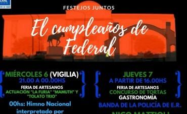 COMIENZAN LOS FESTEJOS POR EL ANIVERSARIO DE LA CIUDAD
