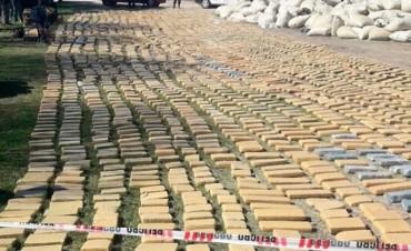 Sobre Sauce de Luna: Megaoperativo incautò importante cargamento de marihuana en la Ruta 127