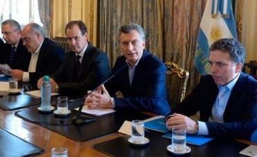Macri y Bordet se reunieron con representantes del sector foresto industrial