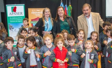 Más de 800 alumnos participaron de una jornada de educación y seguridad vial