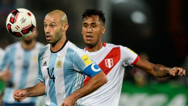 Las populares para Argentina-Perú
