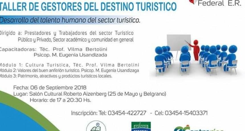 TALLER DE GESTORES DEL DESTINO TURÍSTICO: DESARROLLO DEL TALENTO HUMANO DEL SECTOR TURÍSTICO