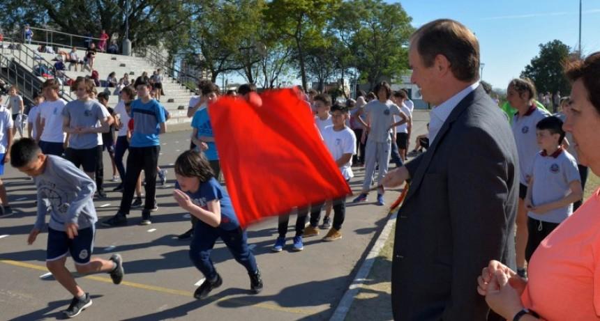 Bordet ratificó más obras de infraestructura en materia deportiva escolar