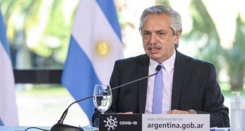 El mensaje de Alberto Fernández tras reunirse con Rodríguez Larreta y Kicillof