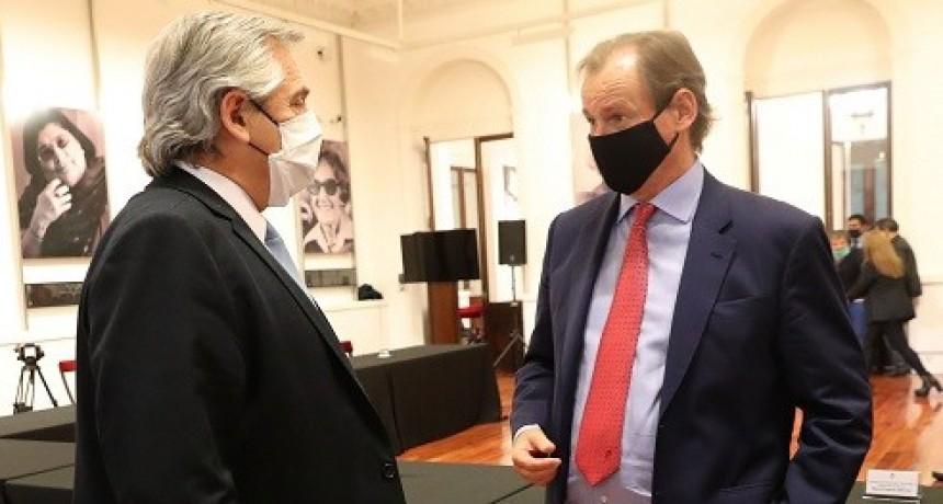 Alberto Fernández y Bordet compartirán una agenda de trabajo el miércoles en la provincia
