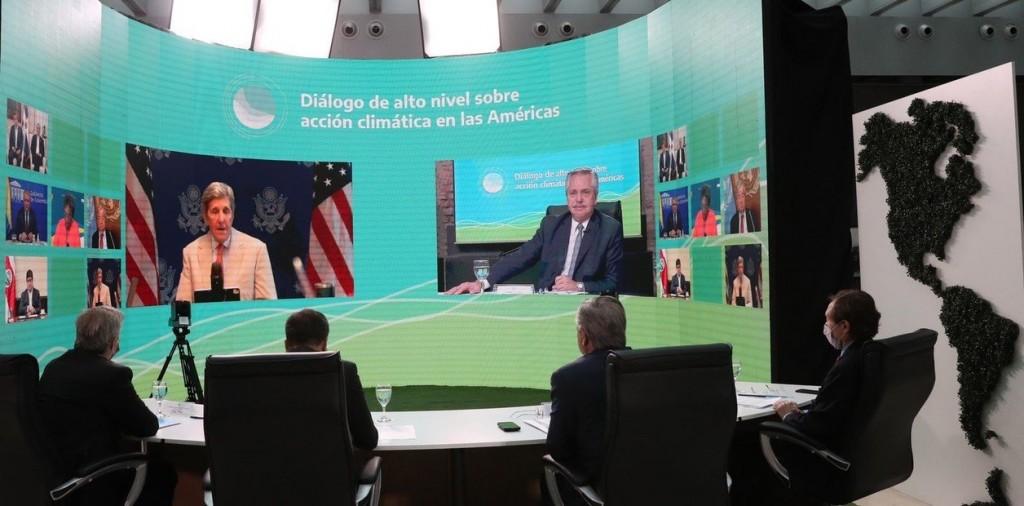 Alberto Fernández pidió una extensión en el pago de la deuda para enfrentar el cambio climático