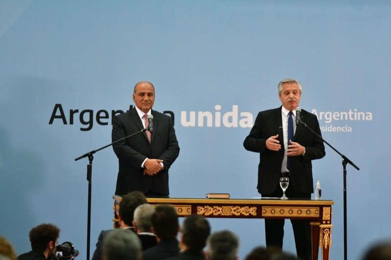 Alberto Fernández tomó juramento a los nuevos integrantes del Gabinete