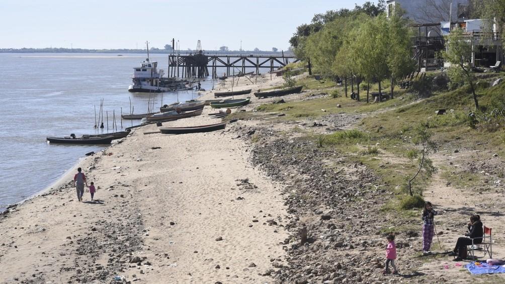 La AFIP asistirá a los afectados por la bajante del Río Paraná en Entre Ríos y otras provincias