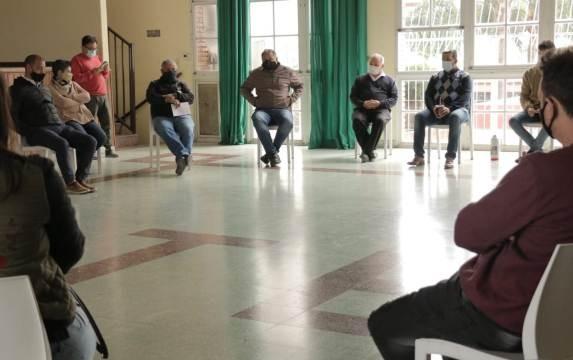 Reapertura de paritarias y pases a planta, la agenda que proponen los delegados de ATE Paraná