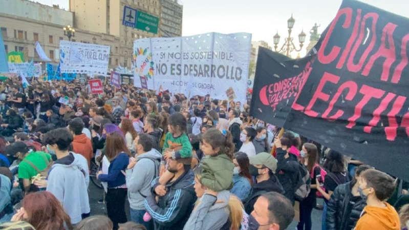 a marcha juvenil por la crisis climática fue la más grande de la historia argentina
