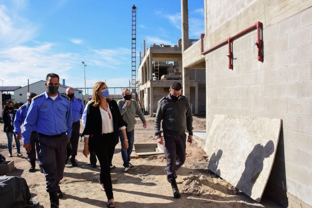 Se continúa con la construcción de dos pabellones en el Penal N 8 de Federal