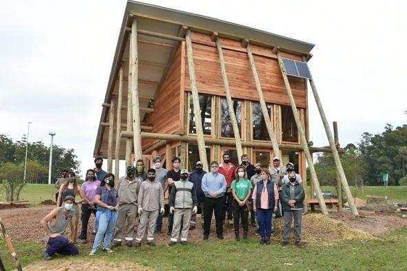 Este viernes se inaugura en Concordia la primera aula sustentable ambiental del país