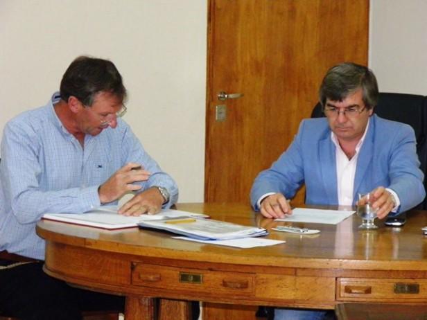 HCD: Se solicitó al Gobierno Municipal un enfermero para el Camping y un equipo nuevo de Comunicación para la Policía de Colonia Federal