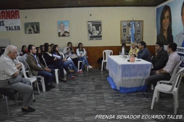 Cine, debate y charla de Ernesto Mattos en la Sede del PJ federalense