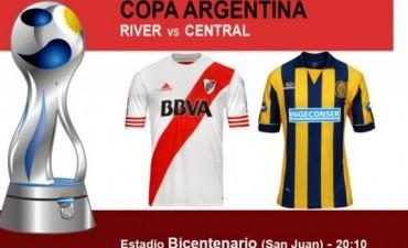 River juega ante Rosario Central y busca el pase a semifinales