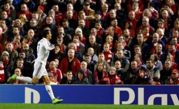 Champions: Real Madrid golea a Liverpool con un gol de Ronaldo, que acecha el récord de Raúl