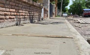El Municipio planifica y ejecuta distintos trabajos de desarrollo urbanístico