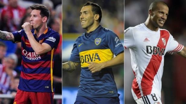 El jugador de River que competirá el balón de oro contra Messi