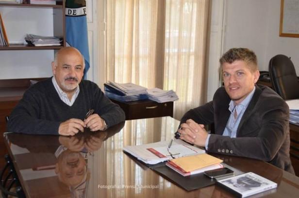 Torres recibió a representantes de la UCA