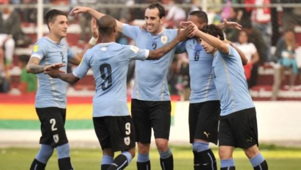 Uruguay logró una histórica victoria ante Bolivia en La Paz