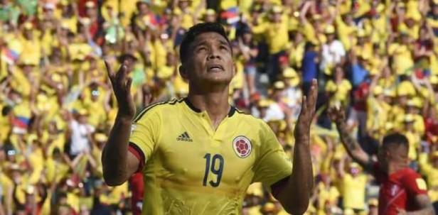 Colombia derrotó al Perú de Gareca con un gol de Teófilo Gutiérrez
