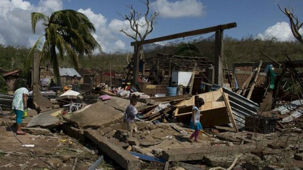 El huracán que arrasó México solo dejó destrozos