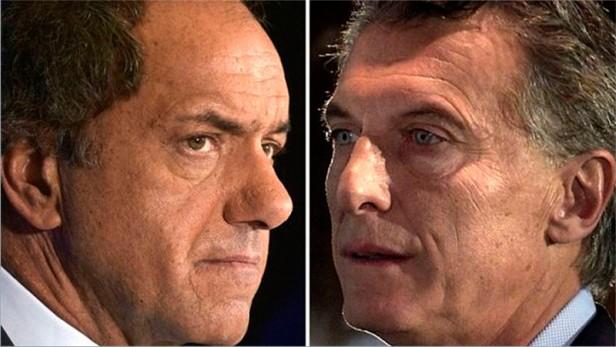 Habrá al menos dos debates entre Scioli y Macri de cara al balotaje