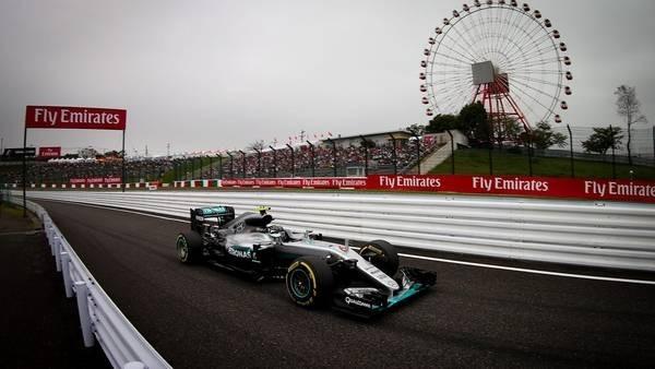 Rosberg ratificó su supremacía en Suzuka y largará adelante