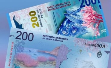 Sale el billete de $200 y en 2017 monedas de $5 y $10