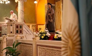 El cura Brochero fue proclamado santo por el Papa Francisco