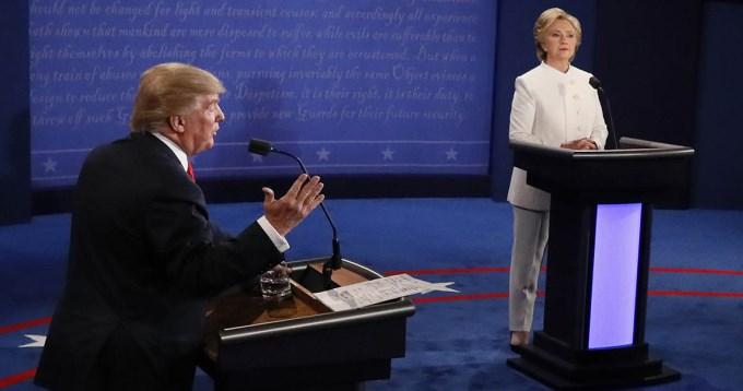 Trump se trenzó con Hillary y amenazó con no reconocer la derrota