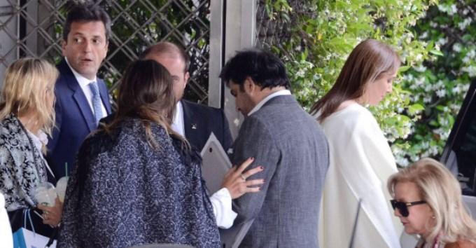 Vidal y Massa negocian acuerdo por el presupuesto