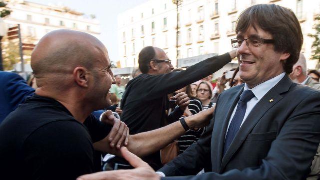 Por temor a ir preso, el líder catalán se fue del país
