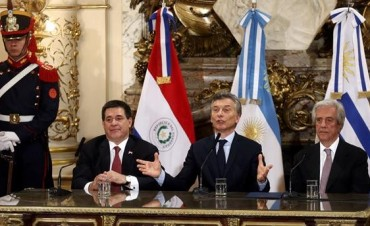 Macri lanzó la postulación conjunta de Argentina, Uruguay y Paraguay para organizar el Mundial 2030: