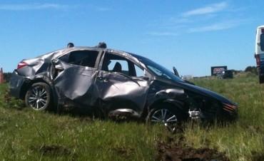 Ruta Nac 127: Lamentable accidente se cobra la vida de una persona