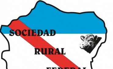 La Sociedad Rural de Federal cumplió ayer 75 años de vida institucional