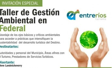 TALLER DE GESTIÓN AMBIENTAL EN FEDERAL