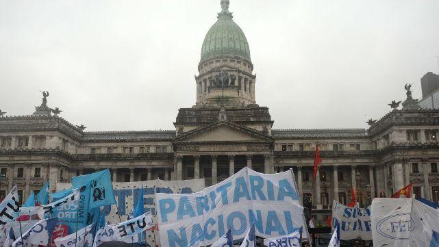 El 24 de octubre, huelga y movilización de la CTERA