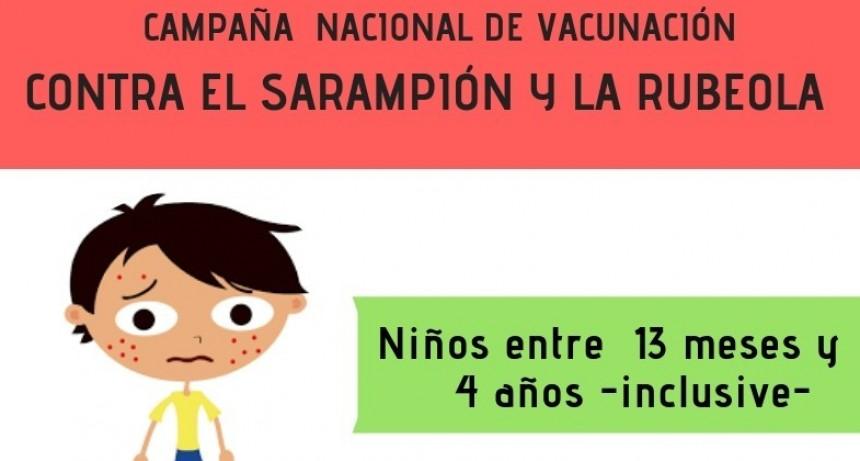 CAMPAÑA DE VACUNACIÓN CONTRA EL SARAMPIÓN Y LA RUBEOLA