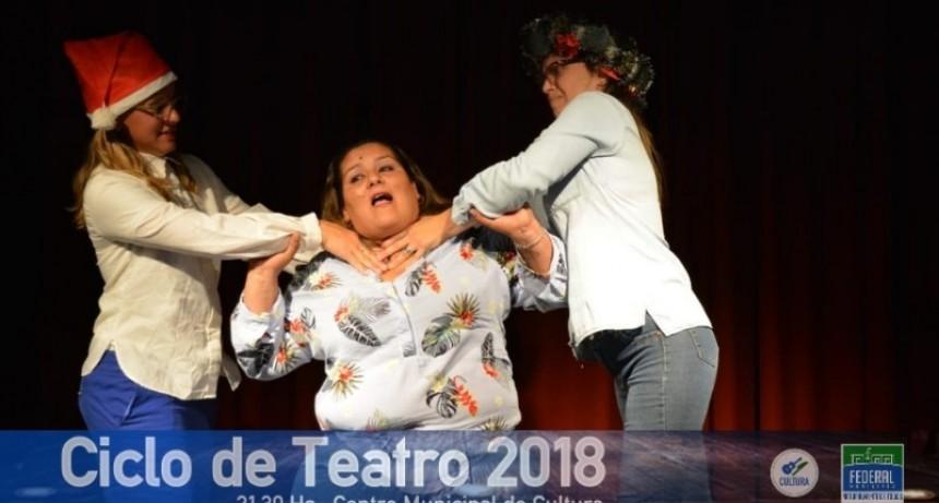 """LA COMEDIA """"PRUDENCIA Y PARANOIA"""" SE PRESENTA ESTA NOCHE EN EL CENTRO CULTURAL"""