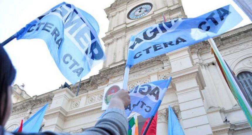 AGMER rechazó la oferta salarial y va al paro este jueves y viernes