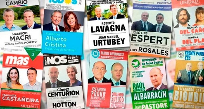Partidos gastaron casi 800 millones de pesos en la campaña para las PASO
