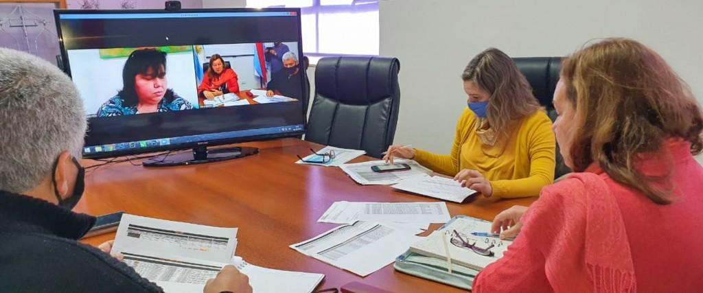 Evalúan obras y proyectos viales en el departamento Federal