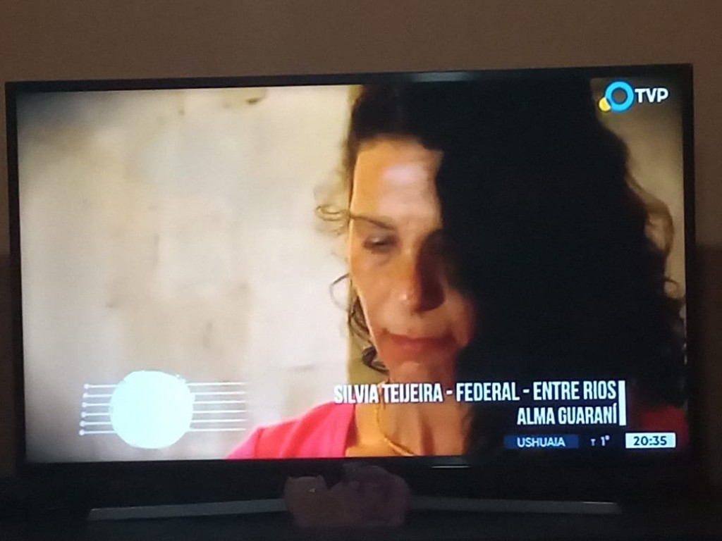 SILVIA TEIJEIRA ACTUO EN LA TV PUBLICA EL PASADO SABADO