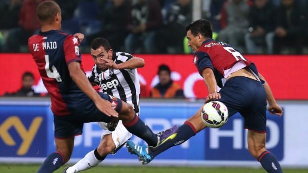 Juventus le ganó al Olympiacos en Turín y sigue con vida en la Champions League