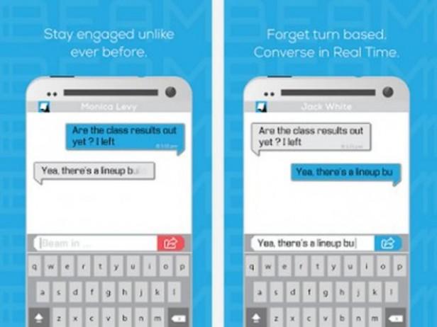 Aplicación similar a WhatsApp permite ver en tiempo real lo que escribe el otro usuario