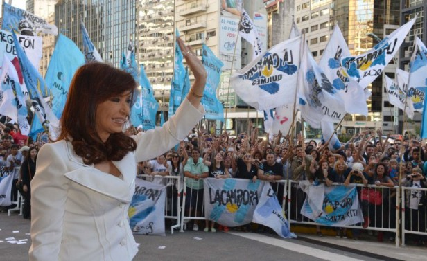 Cristina en las boletas 2015