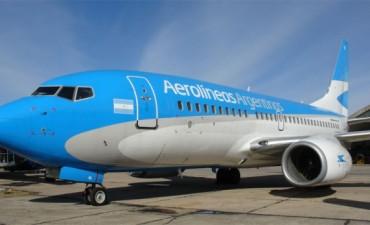 A través de Aerolíneas Argentinas se reactivarán los vuelos en Concordia