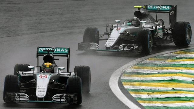 Hamilton triunfó en Brasil y el título de la Fórmula 1 se define en la última fecha