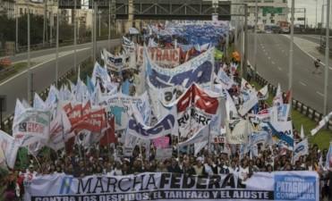 Se moviliza la CTA Entre Ríos a plaza de Mayo